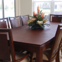 custom dining table pad , 6 Good Round Table Pads For Dining Room Tables In Dining Room Category