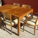 danish modern dining set table , 7 Lovely Danish Modern Dining Table And Chairs In Furniture Category