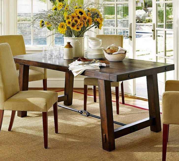Furniture , 4 Best Centerpieces For Dining Room Tables : dining room table