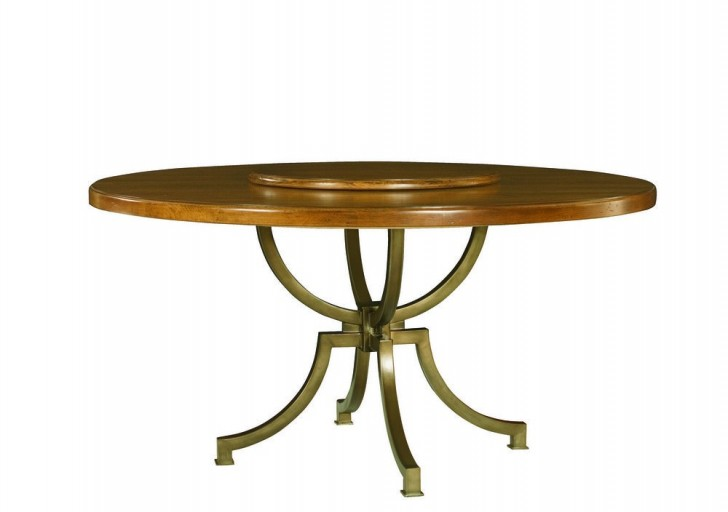 Furniture , 8 Excellent Round Dining Table With Lazy Susan :  dining room tables