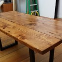 dining table and chairs , 7 Stunning Reclaimed Wood Dining Table San Francisco In Furniture Category