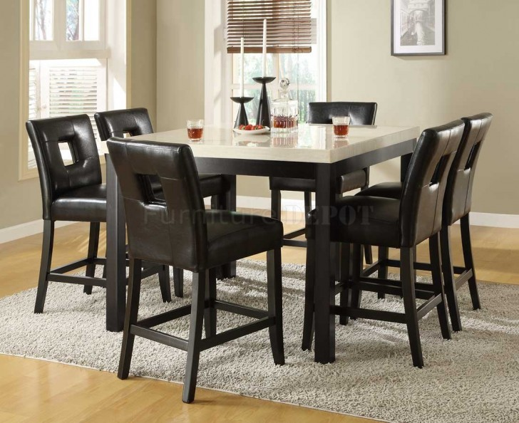 Dining Room , 8 Lovely Counter Height Dining Room Table Sets : dining table sets counter