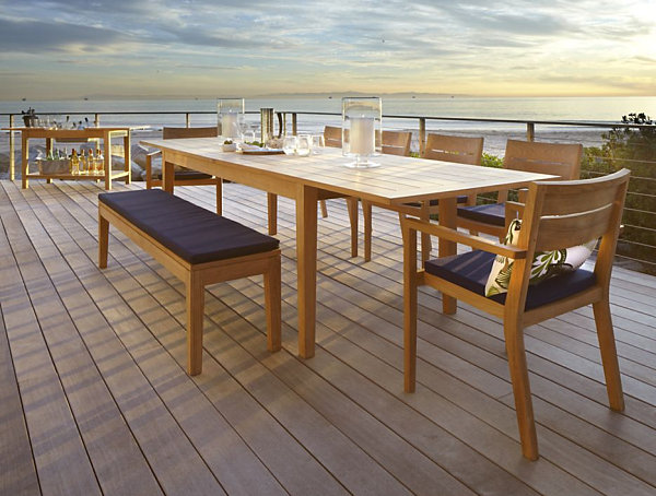 600x454px 8 Awesome Expandable Outdoor Dining Table Picture in Furniture