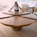 marble dining table , 7 Awesome Round Expandable Dining Tables In Furniture Category