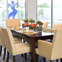 modern dining room setting , 6 Lovely Modern Centerpieces For Dining Table In Furniture Category