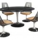 modern dining table , 8 Awesome Chromcraft Dining Table In Furniture Category