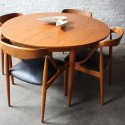 modern teak dining table , 7 Lovely Danish Modern Dining Table And Chairs In Furniture Category