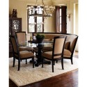 oval dining table , 8 Stunning Dining Table With Banquette In Furniture Category