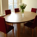ovaldining table , 7 Good Oblong Dining Room Tables In Furniture Category