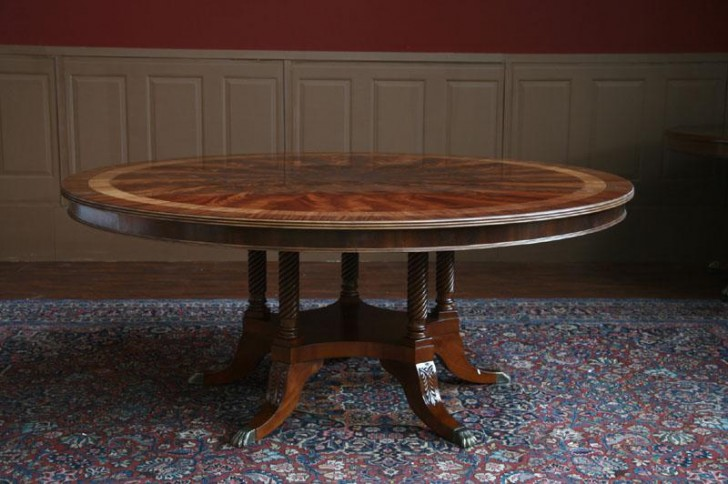 Furniture , 9 Hottest 72 Inch Round Dining Room Tables : round dining room table