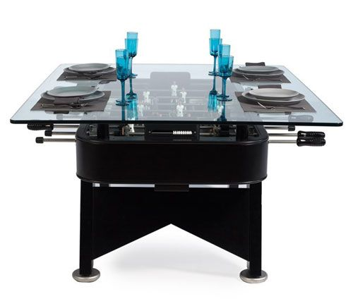 Furniture , 7 Awesome Foosball Dining Table : rs dining table