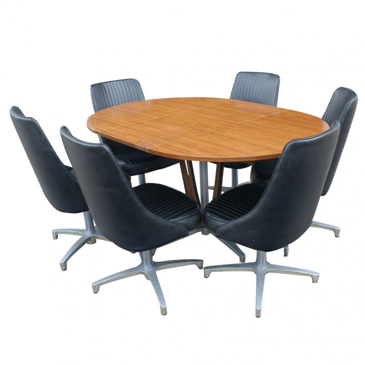 Furniture , 8 Awesome Chromcraft Dining Table :  small dining tables