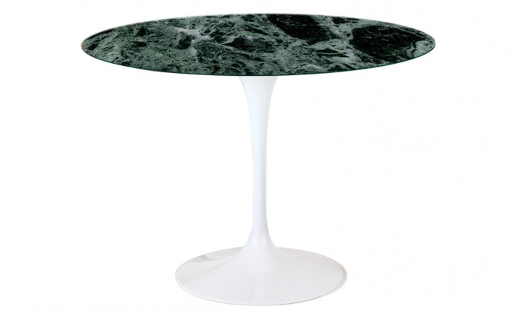 Furniture , 8 Lovely Saarinen Marble Dining Table : Table With Oak Base