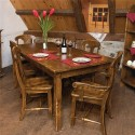 teak dining table , 8 Nice Canadel Dining Tables In Dining Room Category
