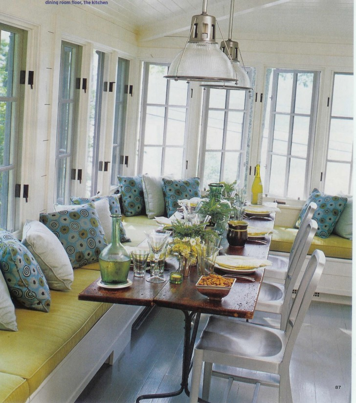 Furniture , 8 Stunning Dining Table With Banquette : wonderful window seats