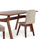 wood dining table , 8 Awesome JCpenney Dining Tables In Furniture Category