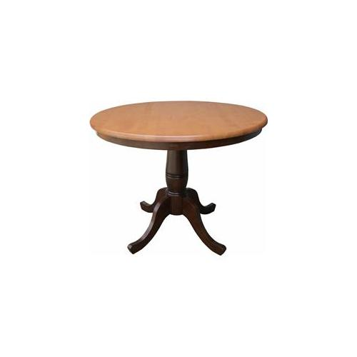Furniture , 7 Good Lovely 36 Inch Round Pedestal Dining Table : 36 Inch Round Top Pedestal Dining Table