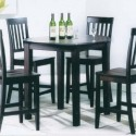 5pc Counter Height Dining Table , 7 Outstanding Cafe Latte Dining Table In Dining Room Category