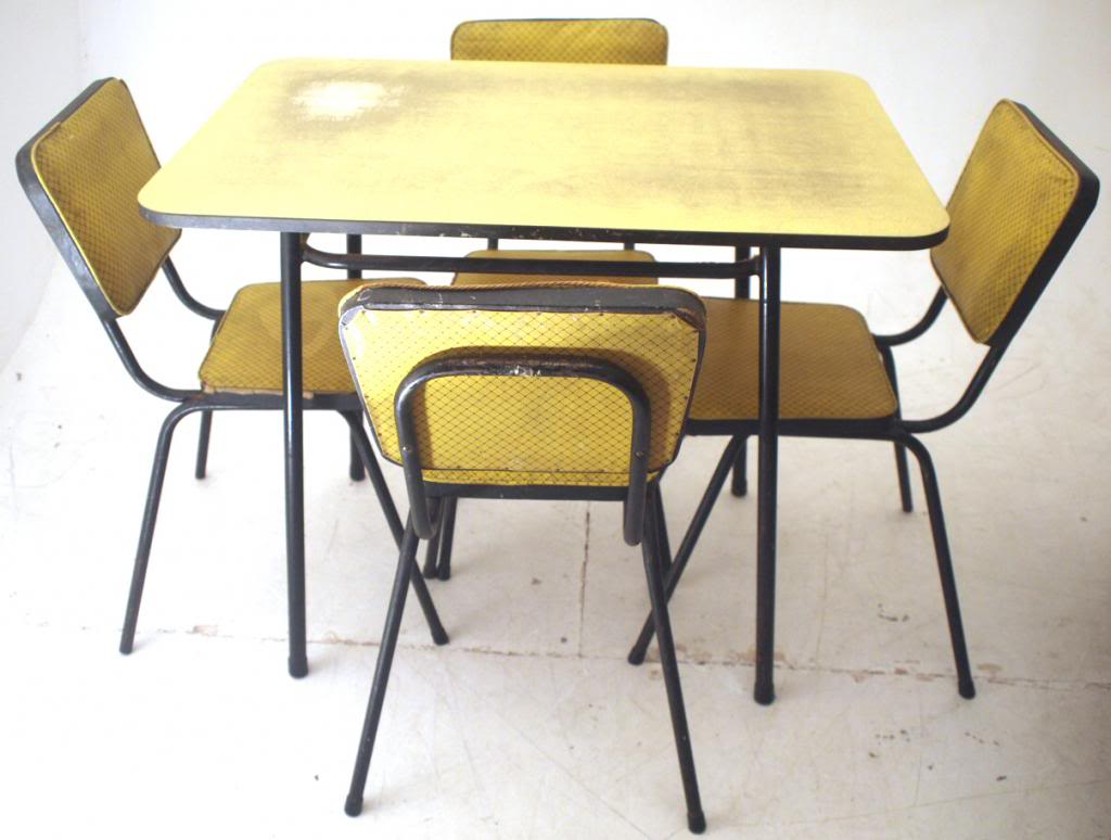 Furniture , 7 Fabulous Formica Dining Tables : 70s Formica Dining Table