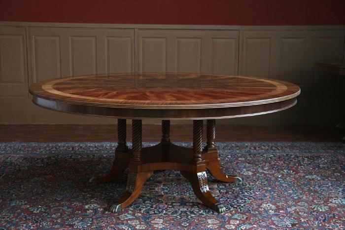 Furniture , 7 Popular 72 Inch Round Dining Table : 72 Inch Round Dining Room Table