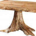 Amish Dining Room Tables , 7 Amazing Tree Stump Dining Table In Furniture Category