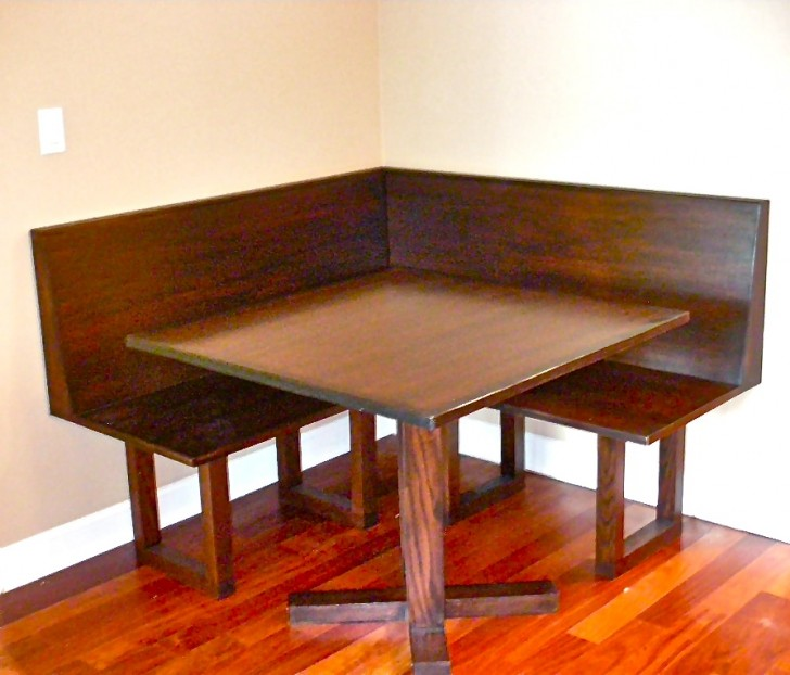 Dining Room , 8 Charming Banquette Dining Table : Banquette And Dining Table