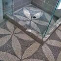 Bathroom Flooring , 8 Best Pebble Tile Shower Floor In Bathroom Category