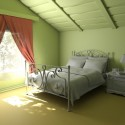 Bedroom With Green Pastel Wall , 7 Stunning Interior Design Wall Color Ideas In Interior Design Category