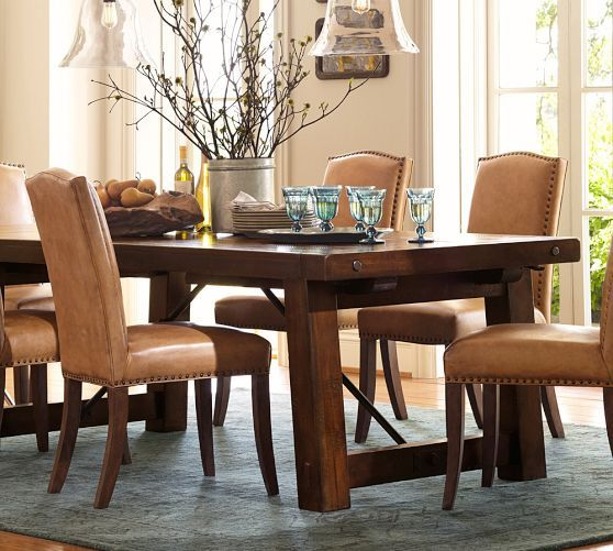 Dining Room , 6 Gorgeous Benchwright Extending Dining Table : Benchwright Extending Dining Table