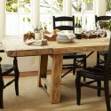 Benchwright Reclaimed Wood Extending Dining Table from Pottery Barn , 6 Gorgeous Benchwright Extending Dining Table In Dining Room Category