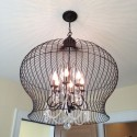 Bird Cage Light Fixture , 7 Stunning Birdcage Light Fixture In Lightning Category