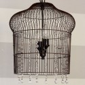 Birdcage hanging light , 7 Stunning Birdcage Light Fixture In Lightning Category