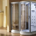 Blissful Steam Shower Sauna , 6 Top Sauna Shower Combo In Bathroom Category