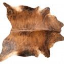 Brindle Cowhide , 7 Good Cowhide Rugs In Furniture Category