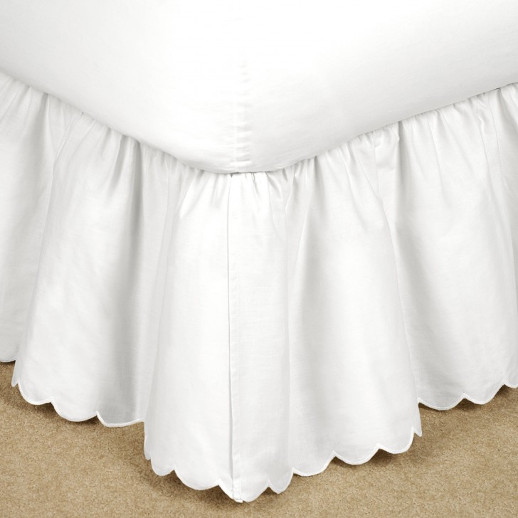 Furniture , 8 Nice Bedskirt : Brittany Gathered Bedskirt