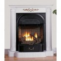 Buckingham White Ventless Gas , 5 Charming Ventless Fireplace Insert In Others Category