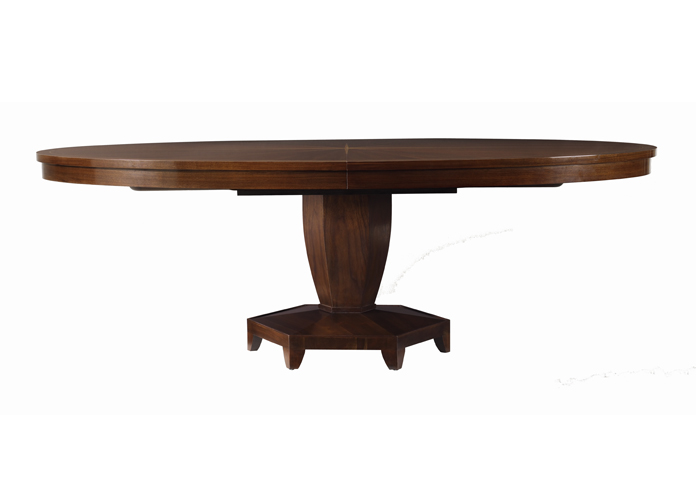 Furniture , 7 Stunning Barbara Barry Dining Table : CELESTIAL OVAL DINING TABLE