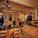 Kitchen , 5 Best Log Cabin Interior Design Ideas : Cabin Interior Design Minimalist