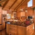 Kitchen , 5 Best Log Cabin Interior Design Ideas : Cabin Interiors Design Ideas