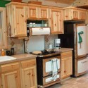 Cabinet Door Styles , 8 Outstanding Knotty Pine Kitchen Cabinets In Kitchen Category