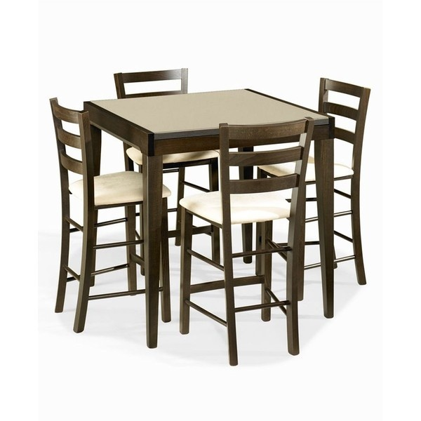 Dining Room , 7 Outstanding Cafe Latte Dining Table : Cafe Latte Dining Room Furniture