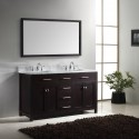 Caroline 60 Inch Double Square , 5 Nice 60 Inch Bathroom Vanity Double Sink In Furniture Category