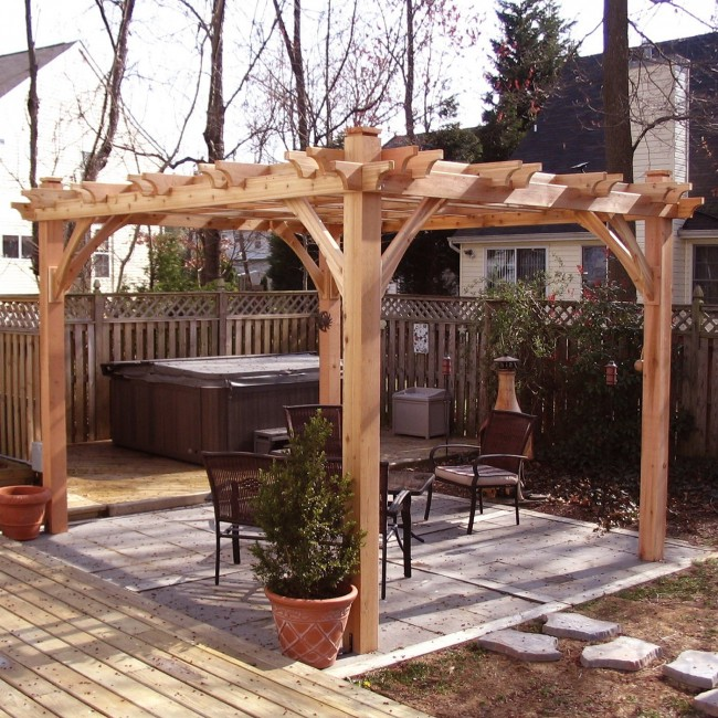 Others , 6 Best Pergola Kits : Cedar Pergola Kits