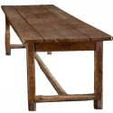 Century French Monastery Table , 7 Charming Primitive Dining Table In Furniture Category