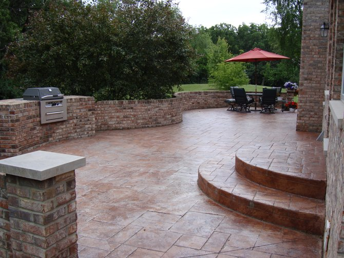 Others , 7 Best Stamped Concrete Patios : Construction Company