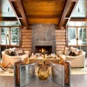 Contemporary Interior Design , 6 Awesome Rustic Cabin Interior Design Ideas In Living Room Category