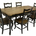 Country Rustic Dining Table , 8 Stunning French Provincial Dining Table And Chairs In Dining Room Category