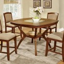 Cracked Glass Insert Pub Table Set , 7 Fabulous Cracked Glass DiningTable In Dining Room Category