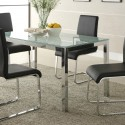 Crackle Glass Top Dining Table , 7 Hottest Crackle Glass Dining Table In Dining Room Category