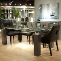 Crackle Glass modern dining tables , 7 Hottest Crackle Glass Dining Table In Dining Room Category